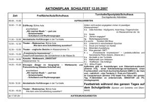 Aktionsplan Schulfest (Word-Dokument)