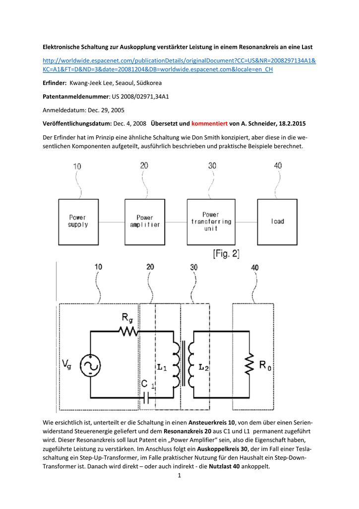 Beste Beispiel Für Eine Einfache Schaltung Bilder - Elektrische ...