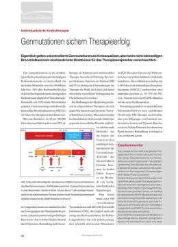Genmutationen sichern Therapieerfolg