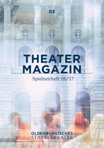 THEATER MAGAZIN - Oldenburgisches Staatstheater