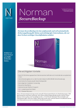 SecureBackup