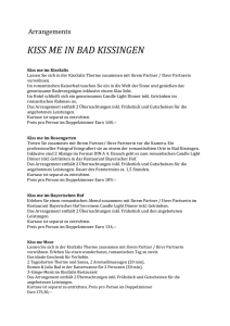 kiss me in bad kissingen