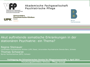 Acute medical complications of patients in psychiatric units. A