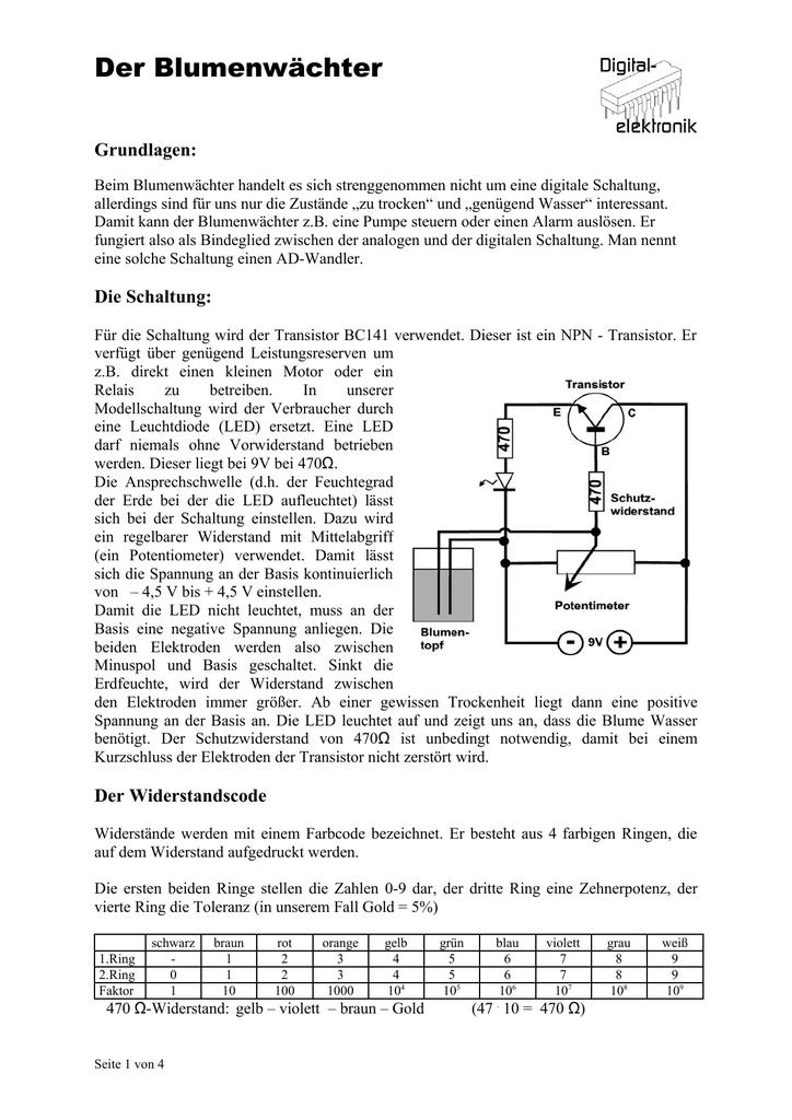 Ausgezeichnet Komponenten Der Elektrischen Schaltung Fotos ...