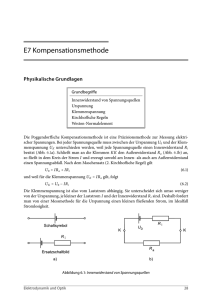 E7 Kompensationsmethode