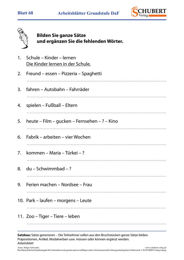 Blatt 68 Schubert