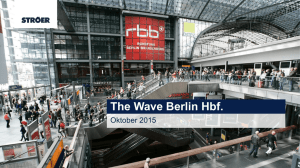The Wave Berlin Hbf.