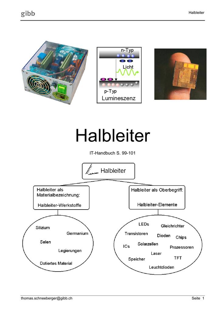 Halbleiter - GIBB Files TS