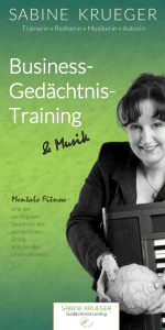 Business- Gedächtnis- Training
