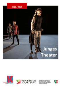 oProgramm Junges Theater 2016/17
