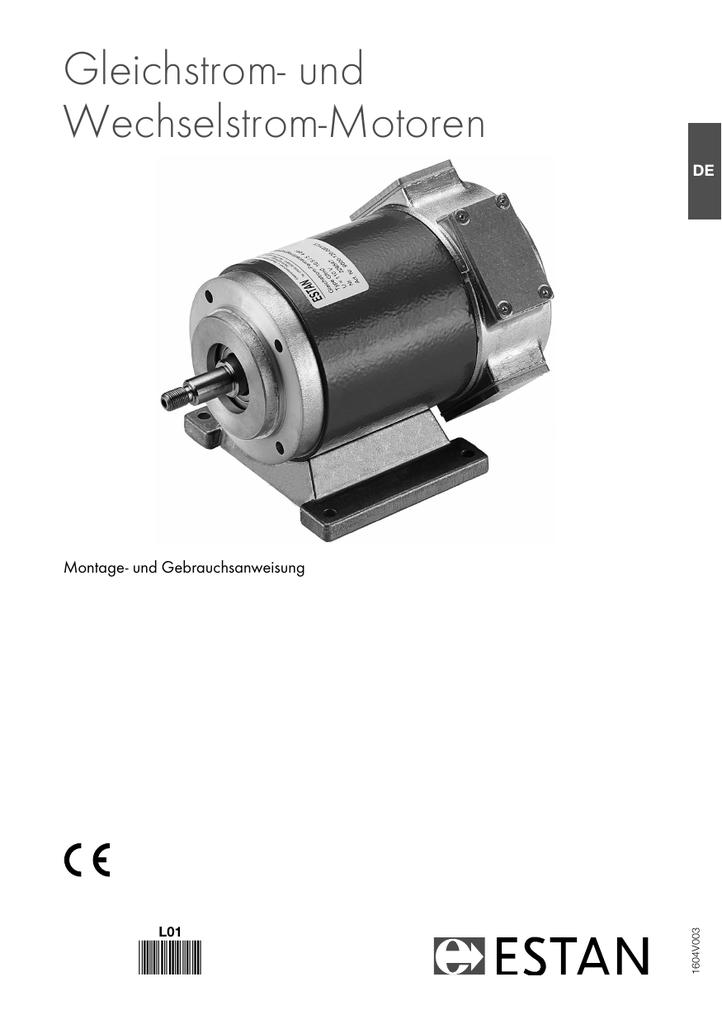 Gleichstrom- und Wechselstrom-Motoren