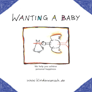 Wanting A Baby - We help you achieve personal happiness