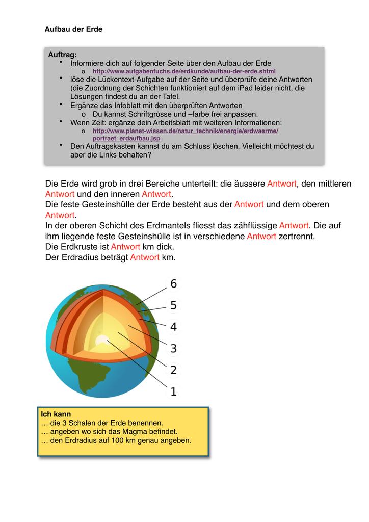 Fancy Nova Erde Aus Dem Weltraum Arbeitsblatt Antworten Composition ...