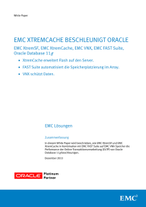 EMC VFCache Accelerates Oracle