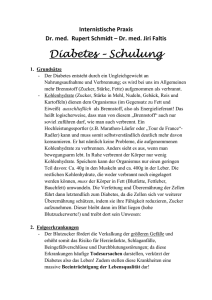 Diabetes Schulung - Hausarzt Schongau West