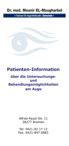 Patienten-Information