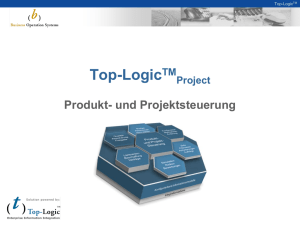 Top-Logic™ Project Übersicht - Business Operation Systems GmbH
