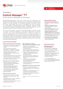Control Manager™ 5.0