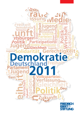Publikation - Demokratie in Deutschland 2011