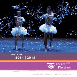2014 | 2015 - Theater Pforzheim