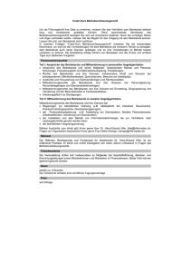 Muster Betriebsvereinbarung Als Word Dokument Br Wiki