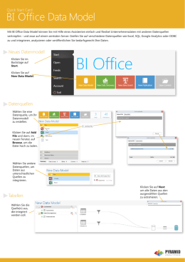 BI Office Data Model