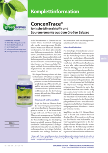 concentrace komplettinfo
