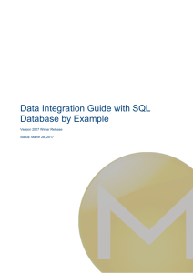 Data Integration Guide with SQL Database by Example