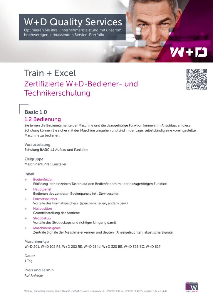 W+D Quality Services - Winkler+Dünnebier GmbH