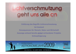 PDF on light-pollution in German