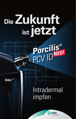 Porcilis PCV ID - MSD Animal Health