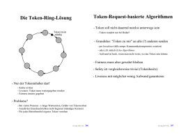 Die Token-Ring-Lösung Token-Request