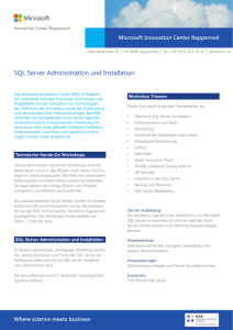 SQL Server Administration und Installation.indd