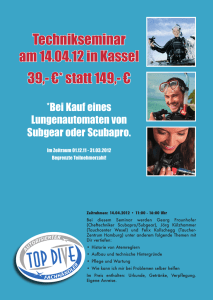 Technikseminar am 14.04.12 in Kassel 39,- €* statt 149,