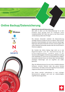 Online Backup Flyer.cdr - CENTINATED Hosting Services