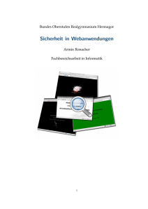 Sicherheit in Webanwendungen - ubuntuusers.de