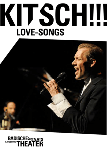 love-songs - Badisches Staatstheater Karlsruhe