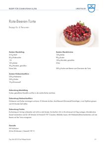 Rote-Beeren-Torte - Lifestyle by V