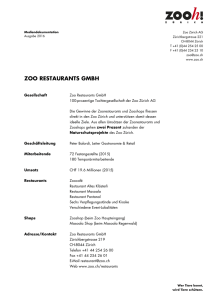 zoo restaurants gmbh