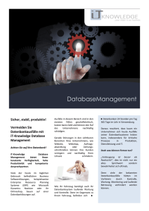 DatabaseManagement - iT