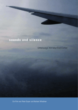 sounds and silence - Arsenal Filmverleih