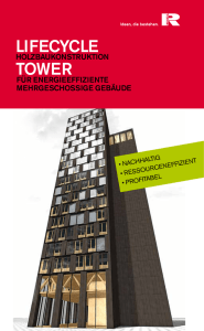 LifeCyCLe TOweR - Rhomberg Bau GmbH