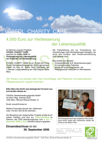 VIVISOL Charity Care 2006