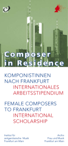 Composer in Residence - mica