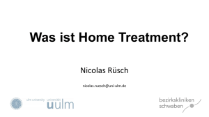 Was ist Home Treatment?