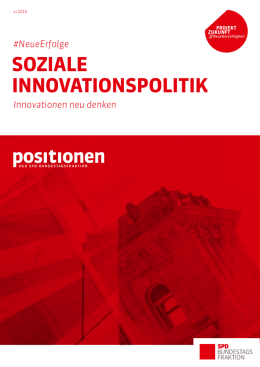 soziale innovationspolitik - SPD