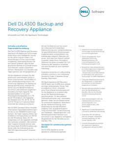DL4300 Backup and Recovery Appliance