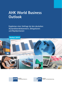 AHK World Business Outlook - AHK Vietnam