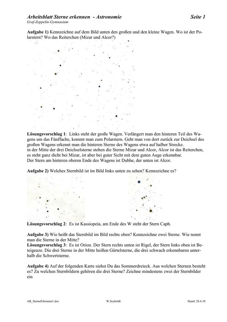 Groß Sterne Arbeitsblatt Zeitgenössisch - Arbeitsblätter für ...
