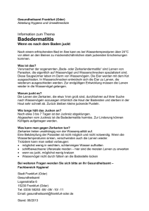 Badedermatitis